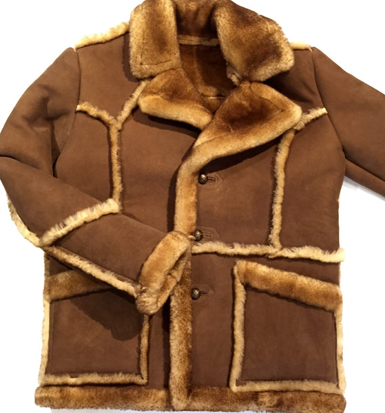 "Jakewood ""Fluff"" Shearling Jacket w/ Buttons - Dudes Boutique - 1"