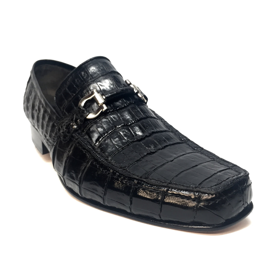Los Altos All-Over Crocodile Belly Loafers - Dudes Boutique - 2