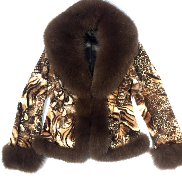 J. Andral - 'Fierce' Rex Rabbit Fur Jacket - Dudes Boutique