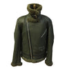 Jakewood - Shearling & Cow Racing Aviator Jacket - Dudes Boutique - 14