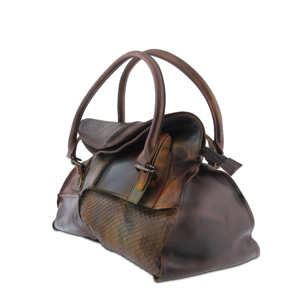 L'ARTISTE Ladies Green Multi HB-SOFTIE Hand Bag