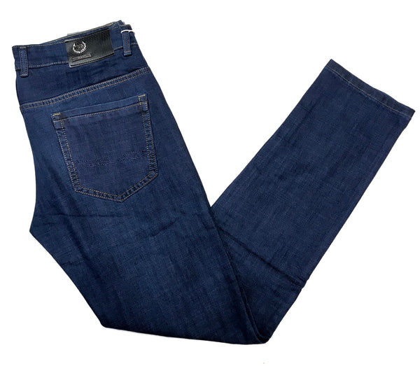 T.R. Premium Naked Blue Stretch High-end Denim