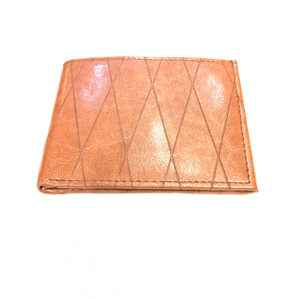 Ace Caramel Wax Leather Bi-fold Wallet