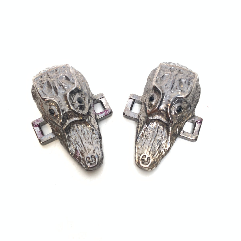 Mauri Alligator Head Shoe Lace Holders