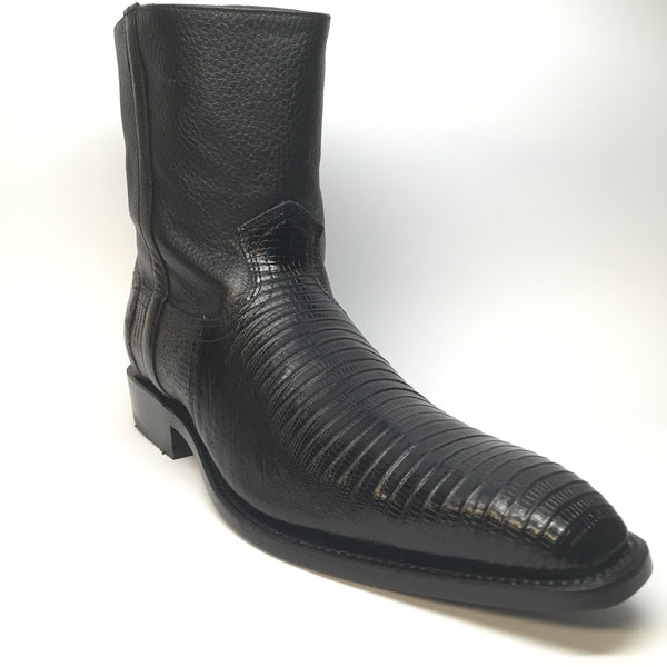 Los Altos Teju Lizard Dressy Boot - Dudes Boutique - 1