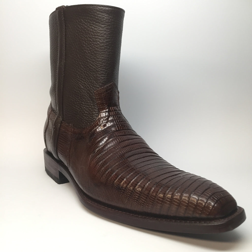 Los Altos Teju Lizard Dressy Boot - Dudes Boutique - 5