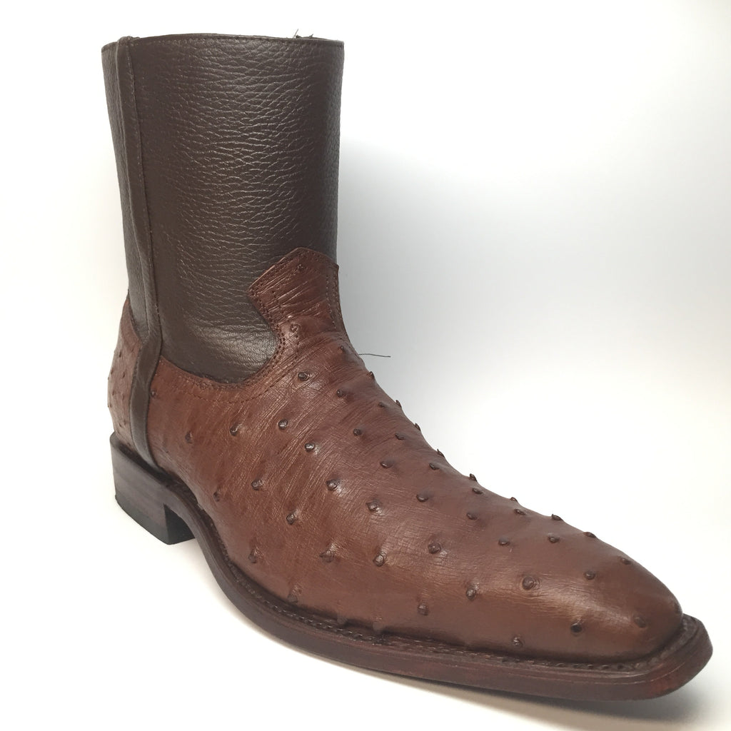 Los Altos Ostrich Dressy Boot - Dudes Boutique - 1