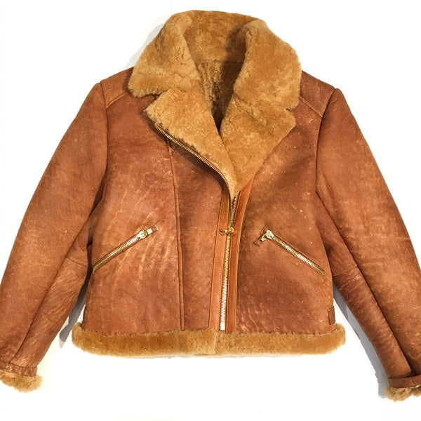 Jakewood Ladies' Shearling Bomber - Dudes Boutique - 1