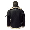 Jakewood - Shearling & Cow Racing Aviator Jacket - Dudes Boutique - 7