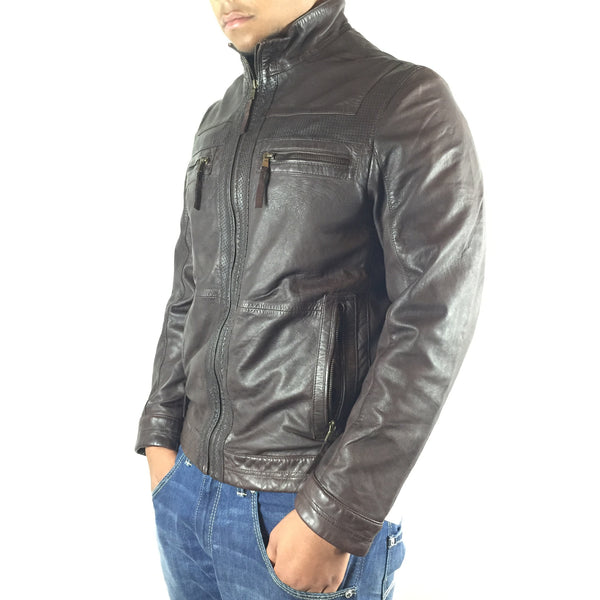 "Scully Sheepskin Leather Car Jacket ""117/34"" - Dudes Boutique - 1"