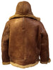 Jakewood - Shearling & Cow Racing Aviator Jacket - Dudes Boutique - 2