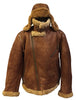 Jakewood - Shearling & Cow Racing Aviator Jacket - Dudes Boutique - 3