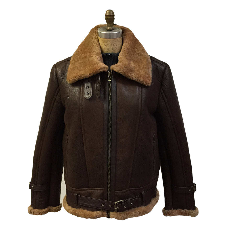 Jakewood - 6300 Shearling Bomber Jacket - Dudes Boutique - 3