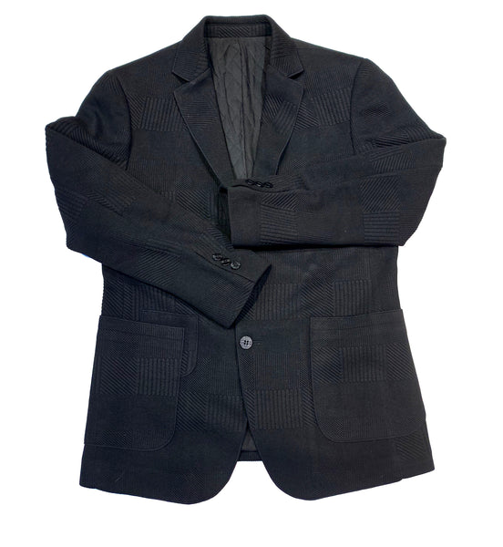 "Barabas ""BH58"" Men's Black Sport Coat"