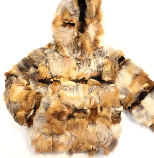 Winter Fur Red Fox Fur Coat - Dudes Boutique - 1