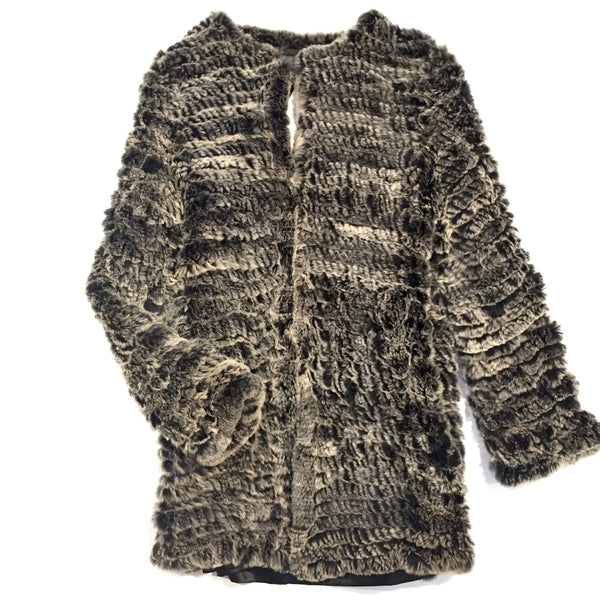 Charm Furs 9216B Rabbit Fur Sweater - Dudes Boutique