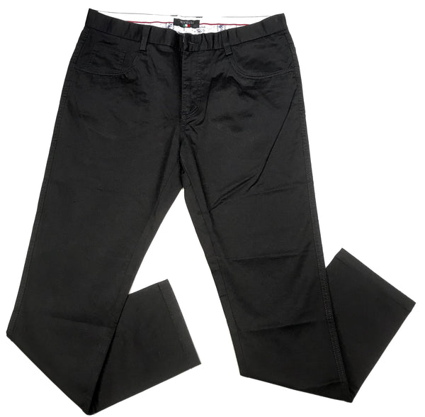 Rivelli Jet Black High-End Trousers