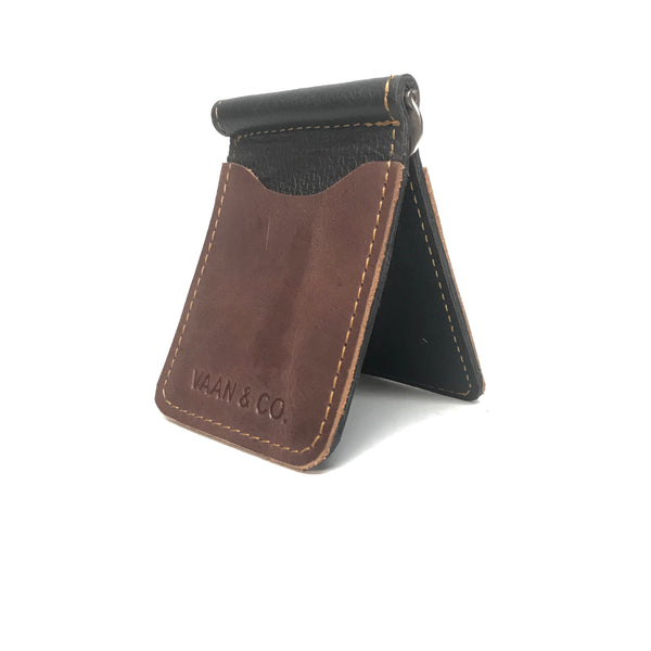 Vann & Co Leather Money Clip