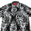 Mondo Black Panthera Club Button Up Shirt - Dudes Boutique