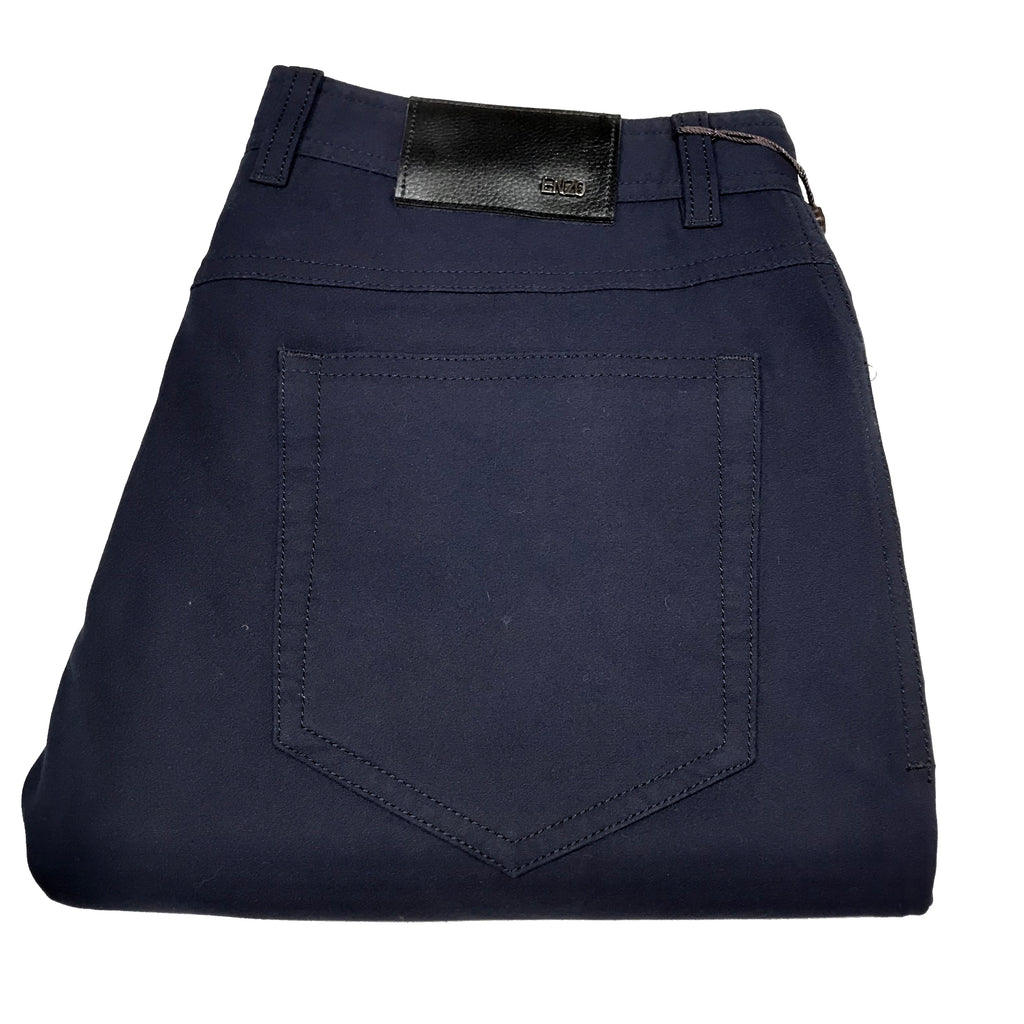 Enzo Albert-2 Navy High-end Trousers