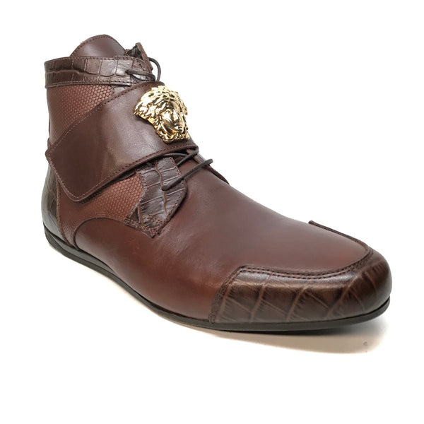 Sigotto Medusa Caffe Hightop Sneakers - Dudes Boutique