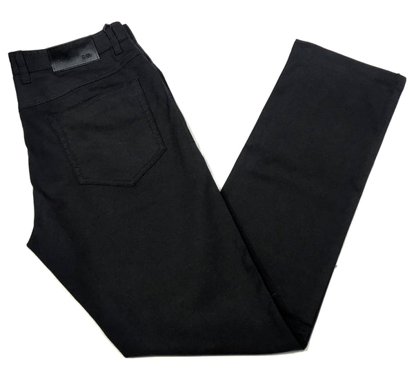 Enzo Albert-1 Jet Black High-end Trousers
