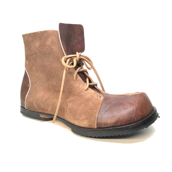 Cydwoq 'Helmet' Hand Made Cowhide Leather Boots - Dudes Boutique
