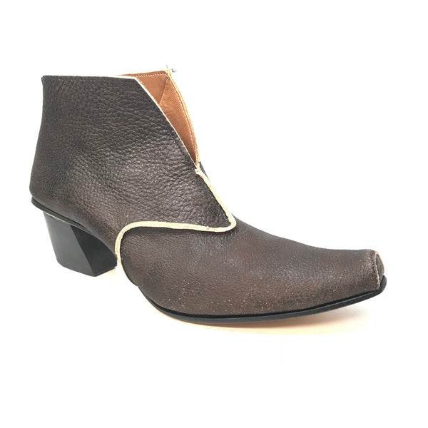 Cydwoq 'Event' Vintage Bootie with 2-Inch Block Heel
