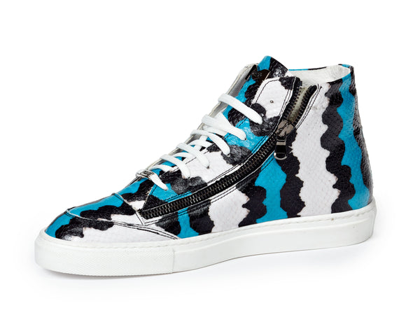 Mauri M726 Toga Python Embossed Sneakers
