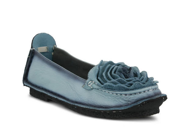 L'ARTISTE BLUE ROSE DEZI SHOES - Dudes Boutique