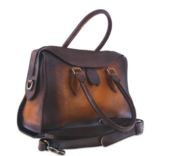 L'ARTISTE Ladies Brown Multi HB-BIRKAL Hand Bag