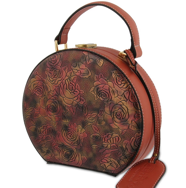 L'ARTISTE Ladies Mauve Multi HB-SPHERE Hand Bag