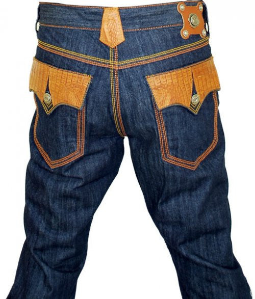 G-Gator Hornback Alligator Jeans 011 - Dudes Boutique