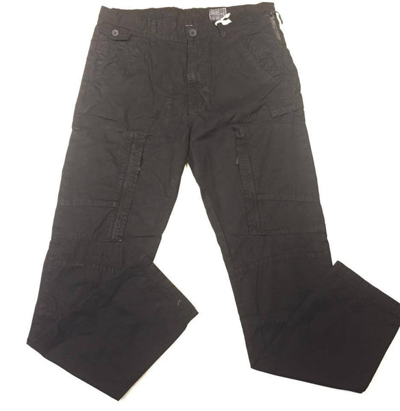 Liberation Bleu Black Cargo Pant - Dudes Boutique