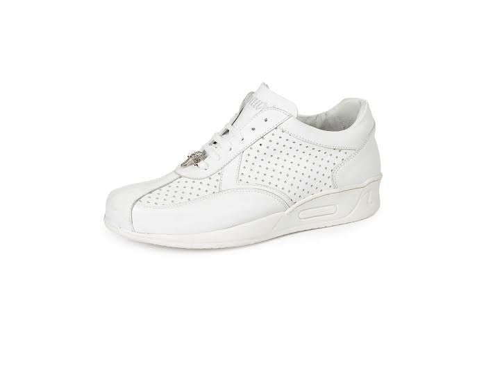 Mauri - M770 Crocodile Nappa Leather Sneakers - Dudes Boutique - 5