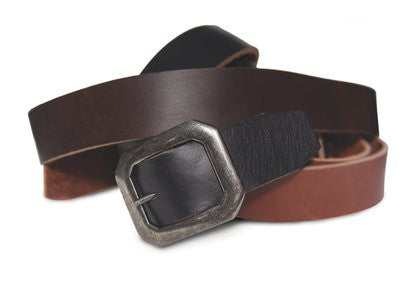 Schott Men's Horween Steerhide Belt