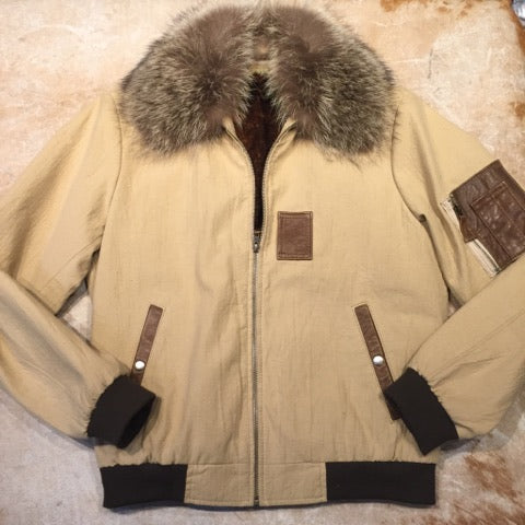Jakewood Coyote/Fox Military Flight Jacket