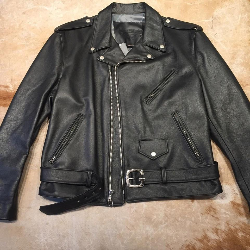 G-Gator Lambskin Chief Biker Jacket