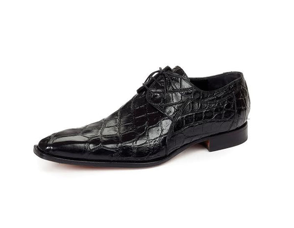 Mauri - 1085 Sipario Body Alligator Dress Shoes - Dudes Boutique