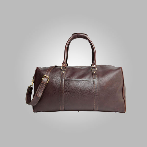 Aston Leather DFL-5 Buchanan Duffle Weekender BAG
