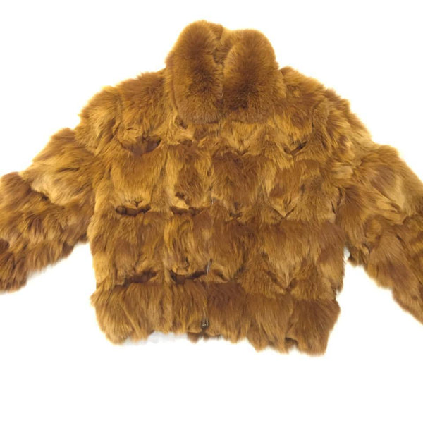 Winter Fur Men's Full Fox Bomber Fur Coat