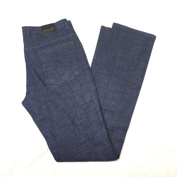 Barabas Clean Denim Stitched Slacks - Dudes Boutique