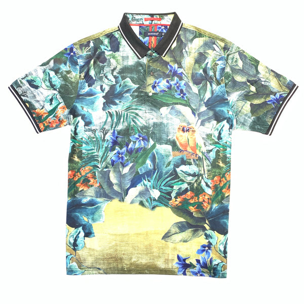 Barabas Green Garden Polo Shirt