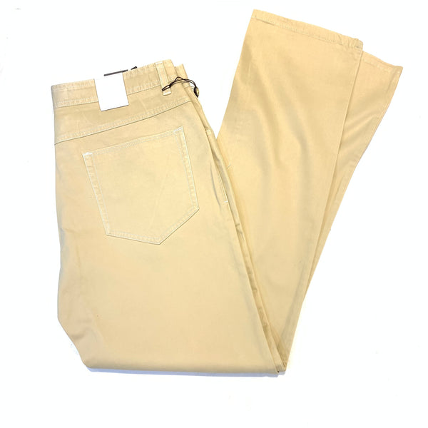Enzo Tan Camel High-end Pants - Dudes Boutique