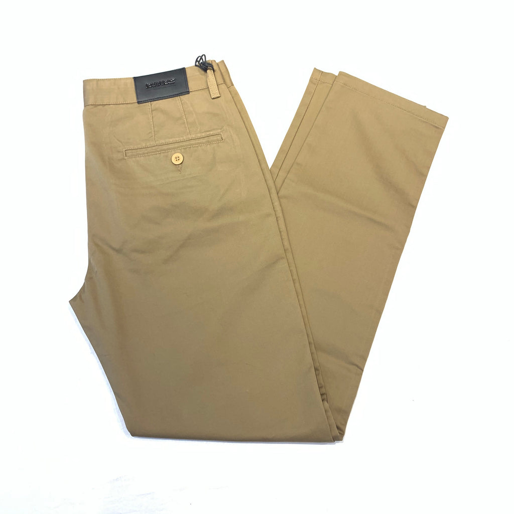 Barabas Coffee Straight Leg Trousers