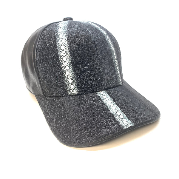 Kashani Row Stone Stingray Baseball Cap - Dudes Boutique