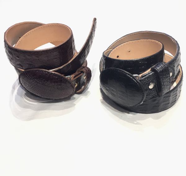 K&F Crafts Full Skin Crocodile Belts