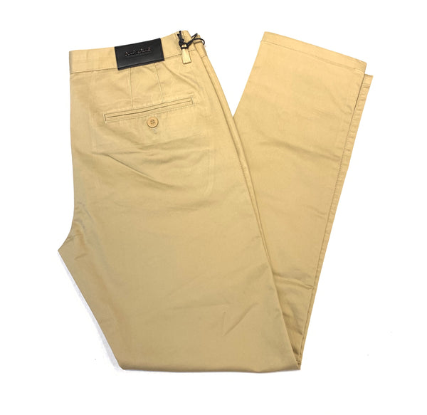 Barabas Khaki Straight Leg Trousers - Dudes Boutique