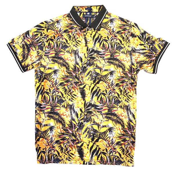 Barabas Golden Garden Polo Shirt
