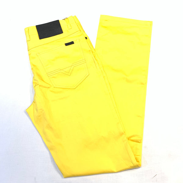 Prestige Canary Yellow High-end Pants